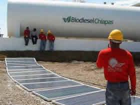Planta Biodiesel Chiapas | SAECSA Energía Solar: Unión de Tecnologías a favor del Medio Ambiente.