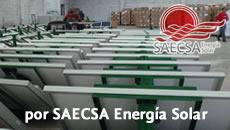 Luminarias Solares SAECSA instaladas en el Periférico Ecológico de Puebla
