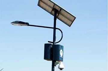 Videovigilancia Solar
