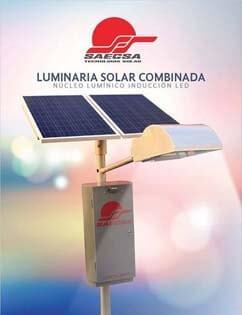 Luminarias Solares Línea Combinada