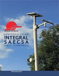 Luminarias Solares Línea Económica Integral