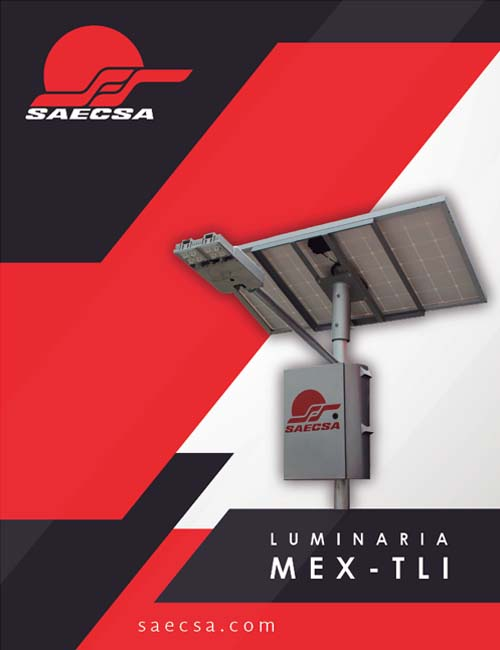Luminarias Solares Línea Total Mextli