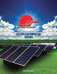 Planta Eléctrica Solar Línea Rural