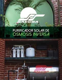 Purificador Solar de Ósmosis Inversa