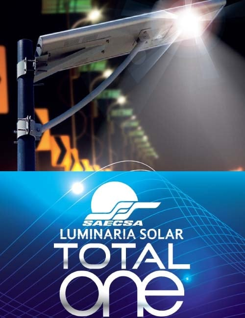 Luminarias Solares Línea Total One