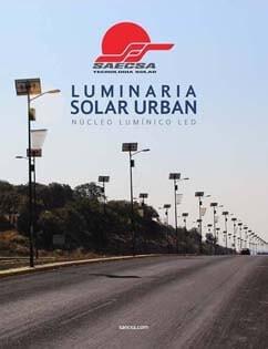 Luminarias Solares Línea Urban